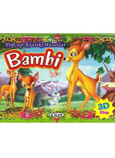 Pop Up Klasik Masallar-Bambi-Çiçek Yayıncılık